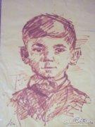 Réti Mátyás Fiú tus rajz