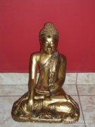 Fa faragott buddha figura