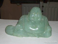 Jade kő Buddha figura