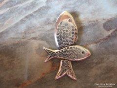 Ezüst halak halas 925 medál ezüstmedál