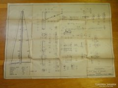 0A883 KRAMPAMPULI F5 vitorlás hajómodell tervrajz