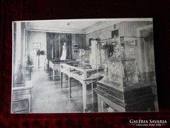Képeslap a megsemmisült SZISZI múzeum -ból 1922