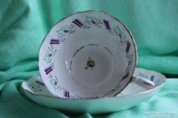 Antik angol Staffordshire csésze 1850, 1860-as évekből