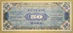 Német 50 mark 1944