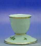 0B052 Hollóházi porcelán gyertyatartó