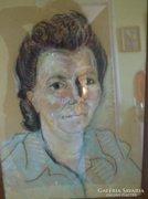 Kelemen Emil női portré