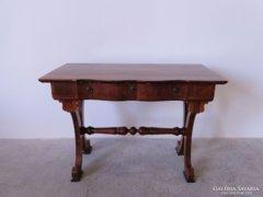 0C531 Gyönyörű antik Biedermeier íróasztal