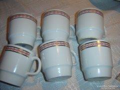 Teás csésze 6 darab alföldi