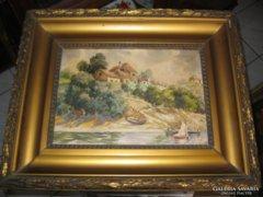 Borcsiczky Zoltánné akvarell eladó