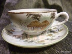 1 személyes Japán tojáshéj porcelán csésze + alj