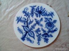 Régi porcelán alátét, asztalközép