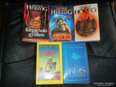 Arthur Herzog  /5 db könyv egyben