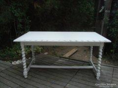 Provence koloniál dohányzó asztal