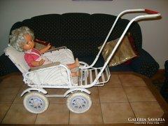 Antique toy stroller