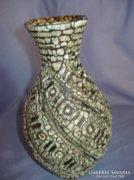 Nagyon szép csavartmintás Gorka váza
