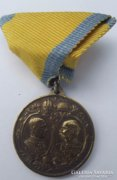 1848-1908 Ferenc József Jubileumi Medál