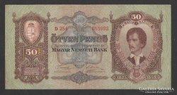 50 pengő 1932.  GYÖNYÖRŰ !!!