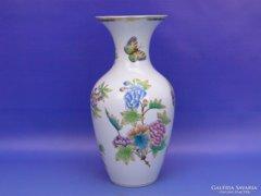 0C949 Viktória mintás herendi váza 25 cm