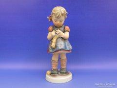 0D004 Régi Hummel kötő kislány TMK 5