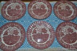 Angol sütis tányérok