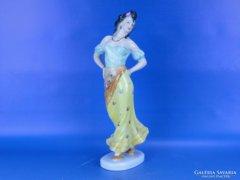 0D134 Herendi porcelán Carmen figura 29 cm