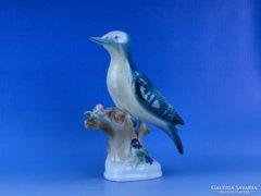 0D173 Régi nagyméretű Zsolnay porcelán madár