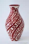 Zsolnay eozin szecessziós váza