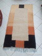 Indiai kézicsomózású gyapjú szőnyeg