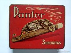 PANTER fém cigaretta doboz