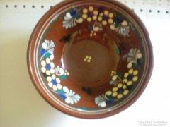 Városlődi majolika tányérka