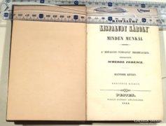 Kisfaludy Károly művei ,1844-es pesti kiadás