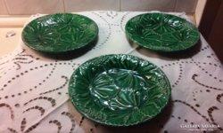 3 db kerámia tányér (Schütz?)
