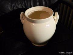 Ca. 100 éves óriási Wilhelmsburg Ditmask Keramik bödön