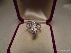 Pille mintás sterling ezüst gyűrű