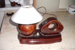 Antik kerámia asztali lámpa eladó!