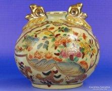 0E146 Régi keleti jelzett porcelán díszváza