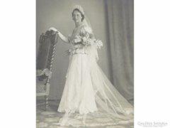 0E806 Régi HALMI BÉLA fotográfia esküvői fotó