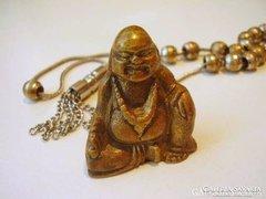 Imafűzér kis réz Buddhával