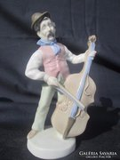 Német porcelán, A zenész cigány előadás közben, szép