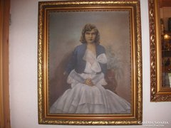 Fiatal hölgy portréja