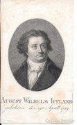 August Wilhelm Iffland metszet