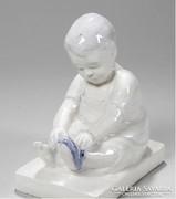 Ritka szecessziós porcelán szobor Wilhelm Süs, 1910