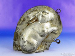 0F255 Antik OBERMANN nyuszi csokiöntő forma