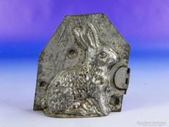 0F261 Antik jelzett MAYER nyuszi csokiöntő forma