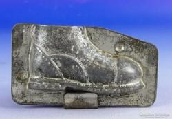 0F292 Antik cipő alakú csokiöntő forma