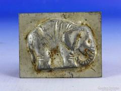 0F309 Antik elefánt alakú csokiöntő félforma