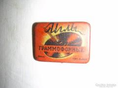 Orosz gramofontű tartó doboz