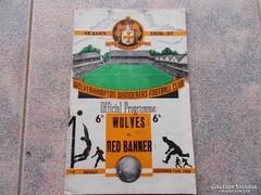 Wolverhampton-Red banner ( M.T.K.).1956.Foci program
