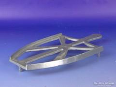 0F247 Régi aluminium szenes vasaló talp