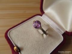 Régi orosz köves ezüst gyűrű